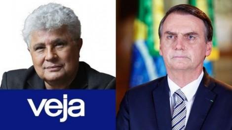 Noblat, da Veja, um dos maiores críticos de Bolsonaro, faz enquete e se dá muito mal