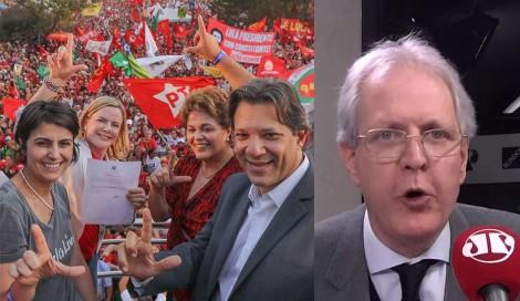"""""""O PT e a destruição da educação são pautas inseparáveis"""", afirma Augusto Nunes (veja o vídeo)"""
