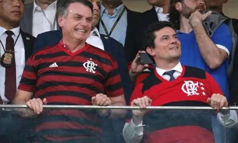 Estádio de futebol lotado, um lugar ideal para medir a popularidade de Bolsonaro e Moro (Veja o Vídeo)