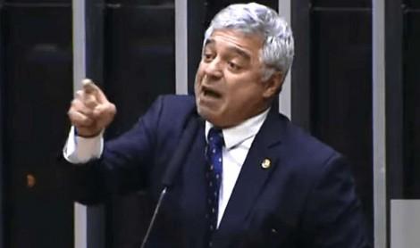 """Senador Major Olímpio detona a oposição: """"Defensores de bandidos, defensores de ladrões, defensores de criminosos"""" (Veja o Vídeo)"""