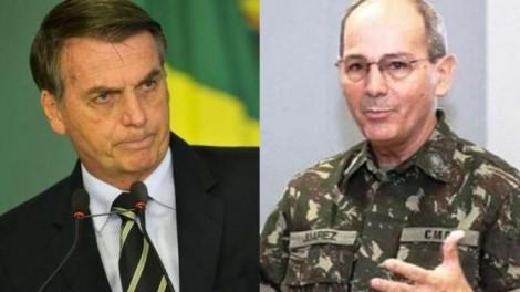 General flagrado zombando Bolsonaro, descobriu quem é que manda (Veja o Vídeo)