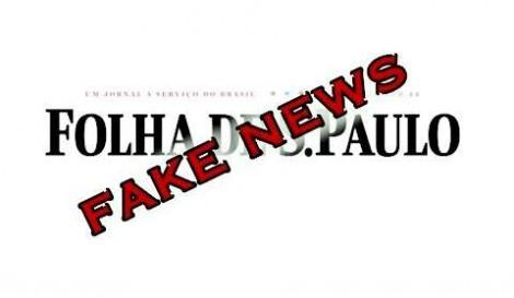 Comparação esdrúxula da Folha denota mais um horripilante fake news