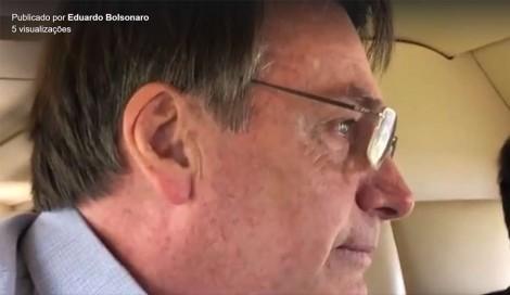 Bolsonaro se emociona ao chegar em Eldorado, terra onde foi criado (veja o vídeo)