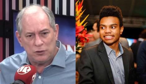 """Ciro Gomes ataca Fernando Holiday: """"Capitão-do-mato nazista e serviçal do branqueamento"""" (veja o vídeo)"""