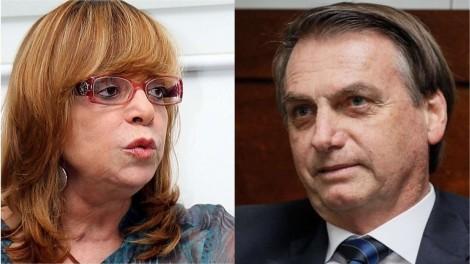 Glória Perez recebe solidariedade de Bolsonaro, após ataque vil de José de Abreu