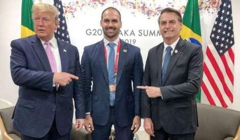 Mudei de pensamento sobre a nomeação de Eduardo Bolsonaro para a embaixada dos EUA