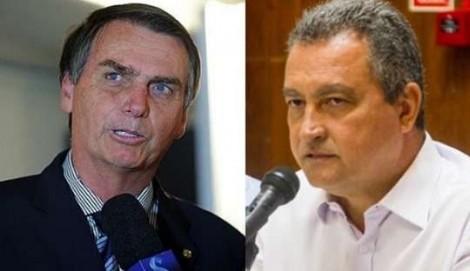 Juntos, Bolsonaro e Rui Costa terão teste de popularidade nesta terça-feira (23) na Bahia