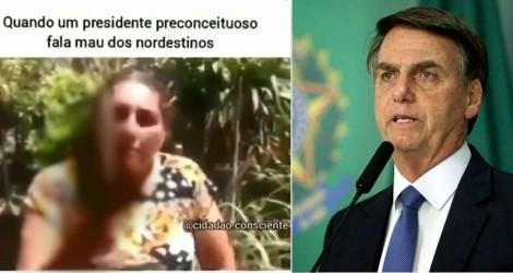 Ex-coordenador da Comissão de Ética do PT, posta vídeo em que Bolsonaro é ameaçado com uma faca