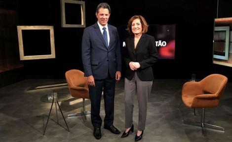 Em apenas 5 minutos, farsa protagonizada por Haddad e Míriam Leitão é desmoralizada (Veja o Vídeo)