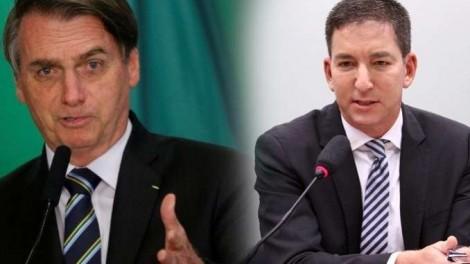 Bolsonaro vai ao ataque contra Glenn