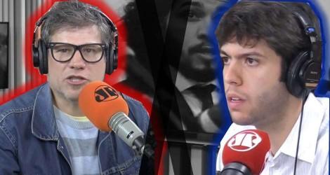 Edgard Piccoli extravasa a inveja e parte para a agressão gratuita a Caio Coppolla (Veja o Vídeo)