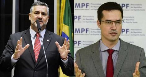 Paulo Pimenta, um dos parlamentares de pior desempenho, chama Deltan de cínico