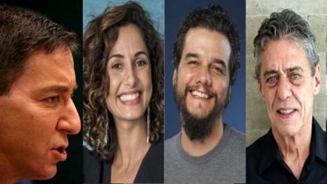 Camila Pitanga, Wagner Moura e Chico Buarque: A união do mau-caratismo em louvação a um criminoso (Veja o Vídeo)