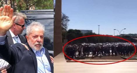 Petistas vão em peso para o STF pressionar ministros (Veja o Vídeo)