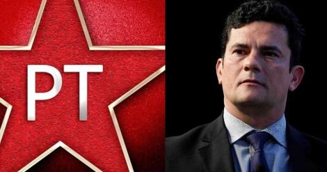 Em nota vergonhosa sobre caso PCC, PT acusa Sergio Moro de acordos milionários com criminosos