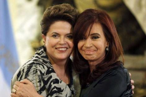 """Em nova """"pedalada intelectual"""", Dilma chama chapa de Kirchner de """"luz no fim do túnel"""""""