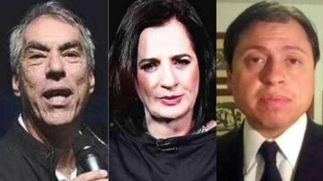 Os três patetas da Rede Globo e o ridículo histórico das defecções verbais