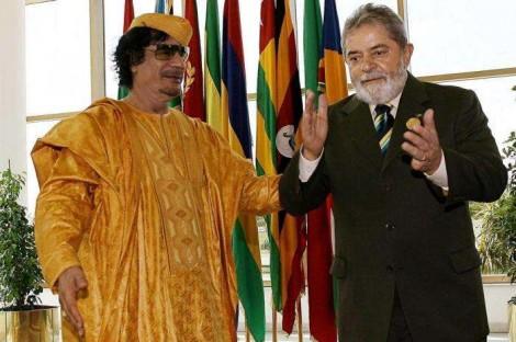 Doação ilegal do ditador Kadafi para Lula pode ser crucial para a extinção do PT