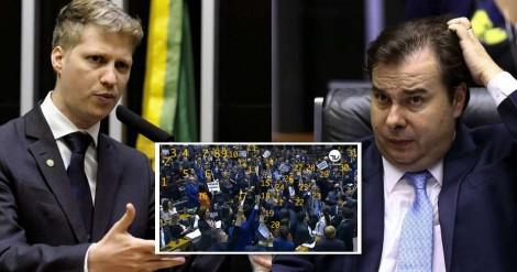 Marcel van Hattem acata desafio de Maia e desmoraliza o presidente da Câmara (Veja o Vídeo)