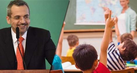 Ministro da Educação desmente Folha e anuncia ampliação de vagas para o ensino médio em tempo integral