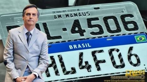 Governo desmascara o gravíssimo golpe das placas do Mercosul (Veja o Vídeo)