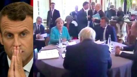"""O """"tiro no pé"""", a patética reação de Macron e o triunfo do Brasil no G7 (Veja o Vídeo)"""