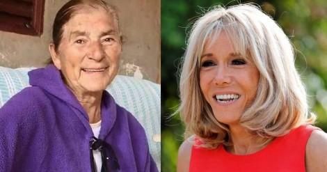 A diferença abismal no trato da extrema imprensa com a avó de Michelle e Brigitte Macron