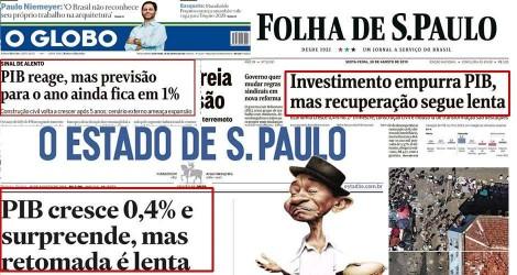 Em 50 segundos, Bolsonaro desmascara Folha, Estadão e O Globo (Veja o Vídeo)