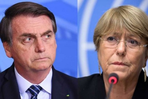 Para desmoralizar Michelle Bachelet, bastava Bolsonaro apresentar os números