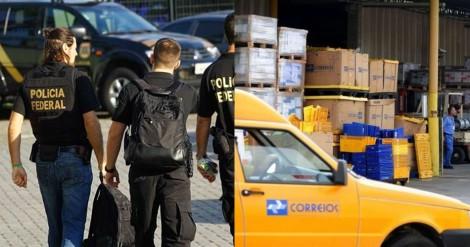 PF deflagra operação de combate à corrupção nos Correios