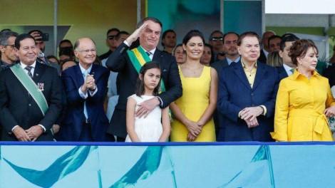 Foto icônica: empresários que apoiam o presidente sem benesses do BNDES ou verbas estatais