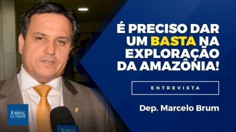 """TV JCO - """"Exploraram muito o Brasil, levaram nossa riqueza, e é preciso dar um basta nisso!"""" - Deputado Marcelo Brum defende a proteção da Amazônia (Veja o vídeo)"""