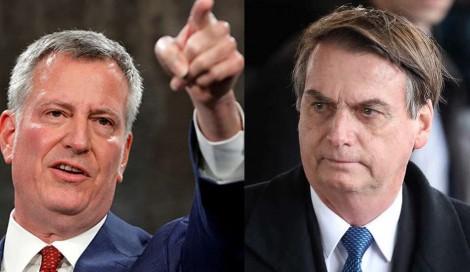 Prefeito de Nova York, que agrediu Bolsonaro, recebe rapidamente a resposta do eleitorado