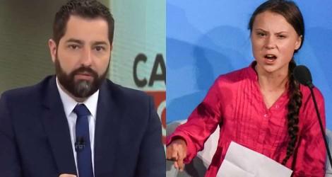 Ao vivo, jornalista Luiz Megale destrói a farsa chamada Greta Thunberg (Veja o Vídeo)