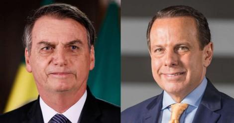 Aprovação de Bolsonaro é maior que a de Dória entre os paulistanos (veja o vídeo)