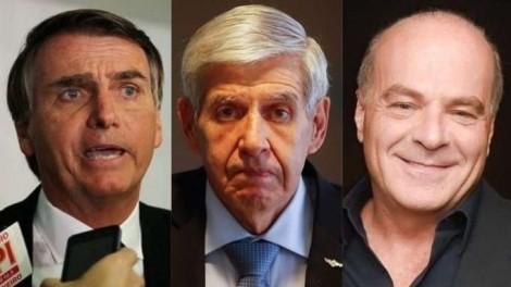 Matéria execrável e parcial da Folha é triturada por Bolsonaro, General Heleno e dono da Rede TV!