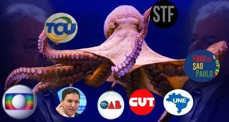 A esquerda, o TCU e os seus abomináveis tentáculos