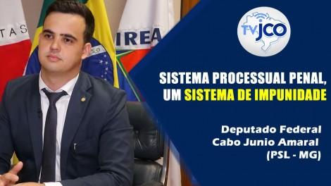 """""""Eu vivia na polícia uma realidade, ia para a faculdade e vivia uma fantasia"""", diz deputado Cabo Junio Amaral (Veja o Vídeo)"""
