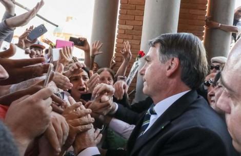 Redes sociais desmentem a Globo e a mídia tradicional sobre Bolsonaro em Aparecida (Veja o Vídeo)
