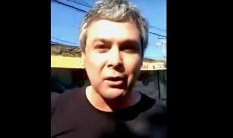 Sem mandato, a decadência de Lindbergh, flagrado no Morro do Vidigal discutindo com populares (Veja o Vídeo)