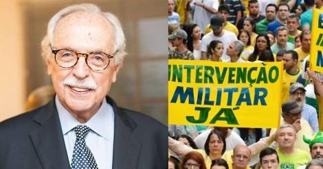 Modesto Carvalhosa: o que querem as pessoas que pedem por intervenção militar pelo art. 142?