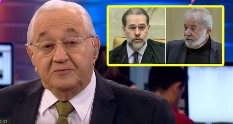 Boris Casoy rasga o verbo: STF vai libertar Lula e dar uma MARRETADA mortal na operação LAVA JATO (Veja o Vídeo)