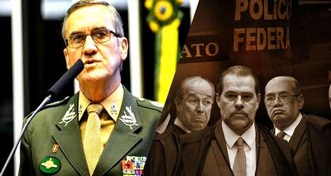 General Villas Bôas manda recado forte e claro para o STF