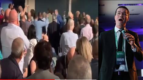 Petistas tentam conturbar palestra de Deltan e são expulsos pela plateia (Veja o Vídeo)