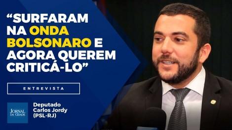 """""""O PT é uma facção criminosa, deveria ter sido extinto há muito tempo"""", diz deputado Carlos Jordy (Veja o Vídeo)"""