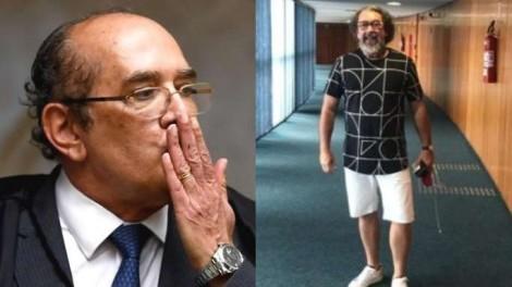 """Jornalista afirma que confraternização entre Gilmar e Kakay é """"prova escandalosa do crime cometido pelo STF"""" (Veja o Vídeo)"""