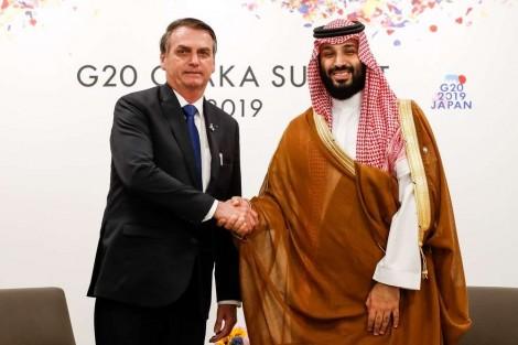 Bolsonaro cumpre mais uma promessa de campanha e Brasil receberá R$ 40 bilhões de investimentos da Arábia Saudita
