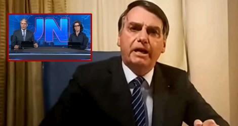 URGENTE: Emocionado, Bolsonaro destrói Globo após matéria absurda sobre suposto envolvimento na morte de Marielle Franco (veja o vídeo)