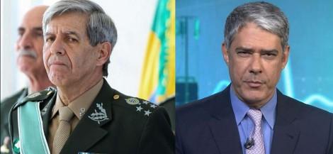 """General Heleno: """"Rede Globo, sensacionalista, ignorou a ética, a honestidade intelectual e os fatos"""""""