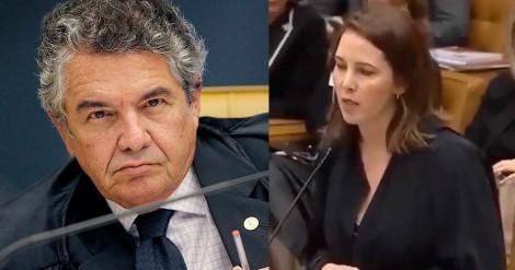 Ministro Marco Aurélio submete professora a constrangedora e desnecessária humilhação (veja o vídeo)